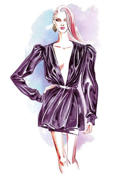 Intermediate Creative Fashion Illustration