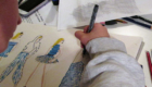 Classes for Kids - Fashion Drawing for Kids